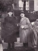 John Weller and John Portwine - friends and business partners. Portwine was a successful local businessman with a chain of butchers shops across London. Weller was an inventor of repute but lax in securing his patents!